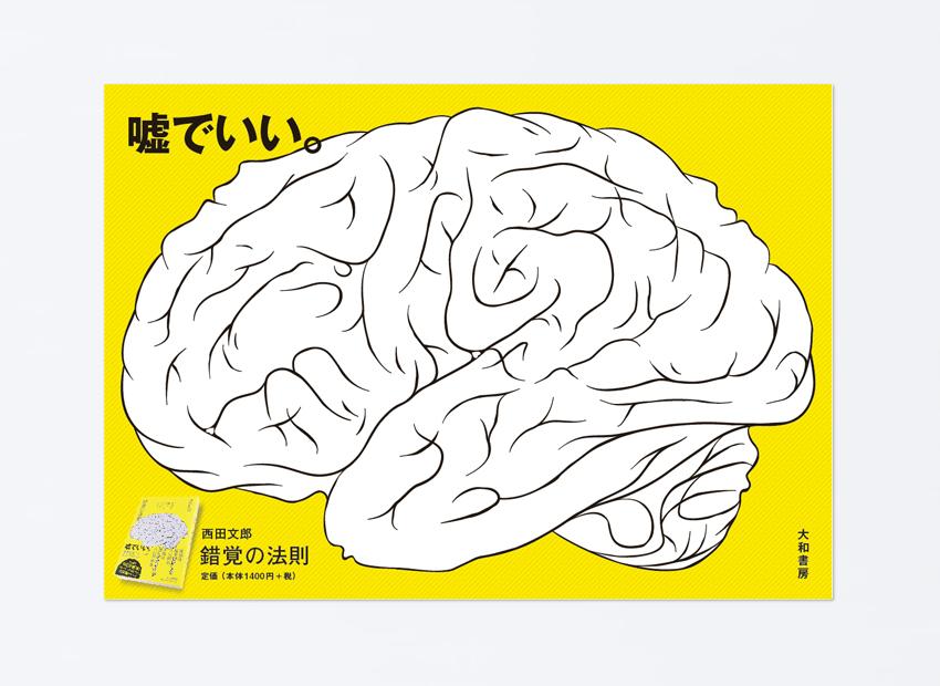 「錯覚の法則」ポスター
